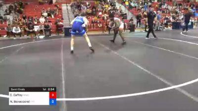 92 kg Semifinal - Cameron Caffey, Michigan Wrestling Club vs Nino Bonaccorsi, Pittsburgh Wrestling Club