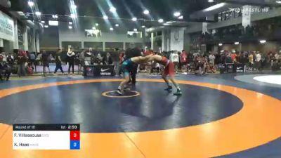 86 kg Prelims - Fernando Villaescusa, Cyclone Regional Training Center C-RTC vs Kyle Haas, Kansas City Wrestling Club