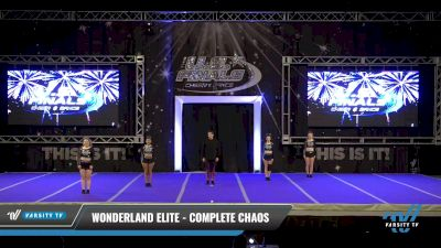 Wonderland Elite - Complete Chaos [2021 L1 Senior Day 2] 2021 The U.S. Finals: Ocean City