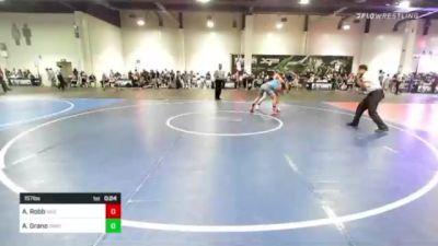 157 lbs Consolation - Aj Robb, NSG Ent. vs Andres Grano, Swat
