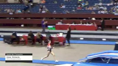Kylee  Richards  - Double Mini Trampoline, World Champions Centre  - 2021 Region 3 T&T Championships