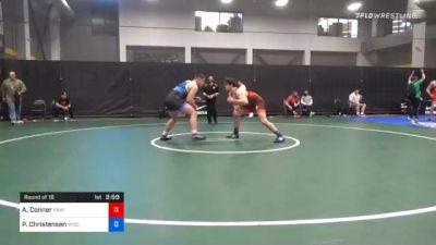 125 kg Prelims - Aidan Conner, Princeton Wrestling Club vs Peter Christensen, Wisconsin Regional Training Center