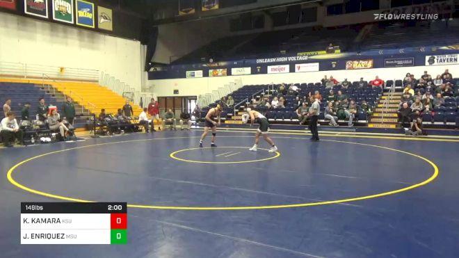 149 lbs JADEN ENRIQUEZ, MSU vs KODY KOMARA, KSU