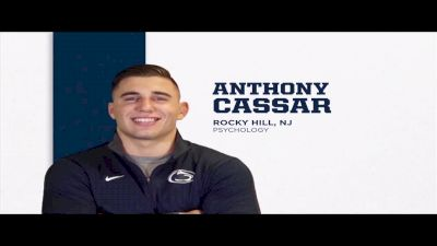 285lbs Dual: Anthony Cassar, Penn State vs Billy Bolia, Kent State