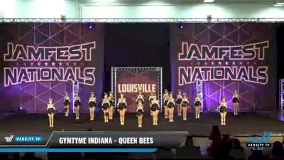 GymTyme Indiana - Queen Bees [2021 L3 Junior - Small Day 2] 2021 JAMfest: Louisville Championship