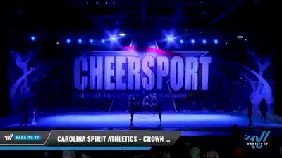 Carolina Spirit Athletics - Crown 5harks [2021 L5 Junior - D2 Day 1] 2021 CHEERSPORT National Cheerleading Championship