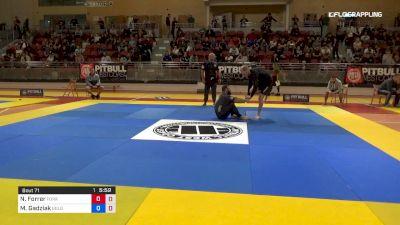 Nicholas Forrer vs Milosz Gadziak 2019 2nd ADCC European Trials