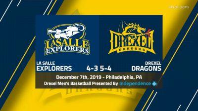 Full Replay - La Salle vs Drexel - 20 CAA Men's Basketball Game 40