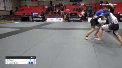 Gal Telem vs Christian Laverdiere 2019 Elite Grappling Championships 3
