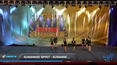Suwannee Spirit - Suwannee Spirit Crush [2021 L4.2 Senior - D2 Day 1] 2021 The STATE DI & DII Championships