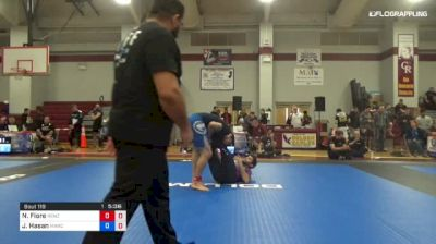 Nick Fiore vs Jaan Hasan 1st ADCC North American Trials
