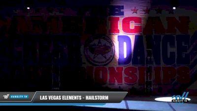 Las Vegas Elements - Hailstorm [2021 L3 Junior - D2 - Small Day 2] 2021 The American Celebration DI & DII