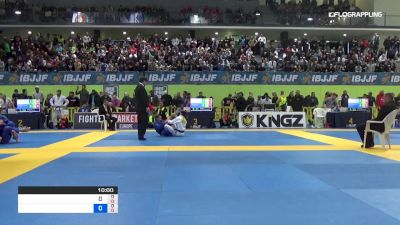 SEIF-EDDINE HOUMINE vs VICTOR SILVA 2019 European Jiu-Jitsu IBJJF Championship
