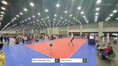 Metro Volleyball Club 18 1 vs Mava 18-Elite - 2021 JVA World Challenge presented by Nike