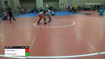 136 lbs Prelims - Kailani Barrientos, Florida vs Greta Garbuzovas, 706 Wrestling