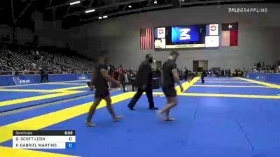 DANTE SCOTT LEON vs PAULO GABRIEL MARTINS DA COSTA 2021 World IBJJF Jiu-Jitsu No-Gi Championship