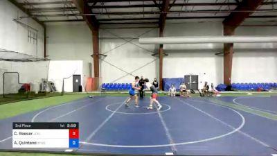 152 lbs 3rd Place - Colin Reeser, Jackson Liberty vs Alexander Quintano, Shore Thing WC