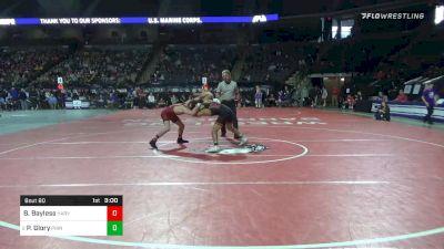 125 lbs Prelims - Beau Bayless, Harvard vs Pat Glory, Princeton