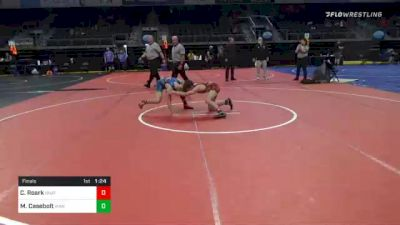 103 lbs Final - Colton Roark, Unattached vs Mattix Casebolt, Vian Wrestling Club