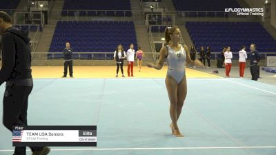 Team USA Seniors - Floor, Official Training - 2019 City of Jesolo Trophy