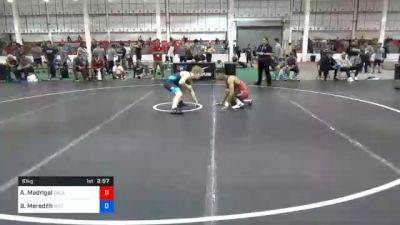 61 kg Prelims - Anthony Madrigal, Oklahoma Regional Training Center vs Brandon Meredith, Nittany Lion Wrestling Club