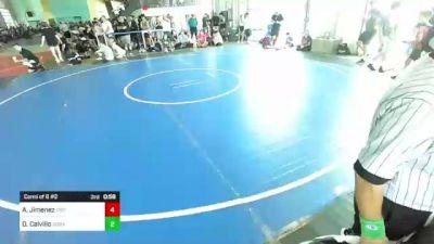149 lbs Rr Rnd 2 - Angelina Alonzo, Lions Den WC vs Cesar Dash, 10th Planet