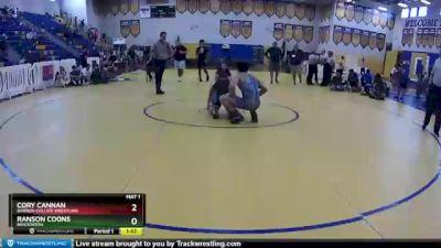 182 lbs 1st Place Match - Ranson Coons, Bradenton vs Cory Cannan, Barron Collier Wrestling