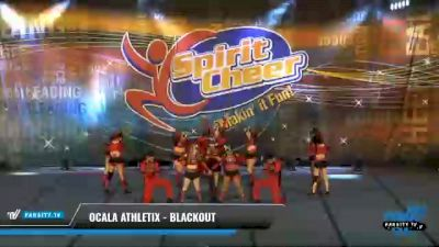 Ocala Athletix - Blackout [2021 L4 Senior Open Day 2] 2021 South Florida DI & DII Nationals
