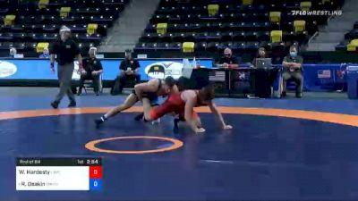 74 kg Prelims - Wyatt Hardesty, Unattached vs Ryan Deakin, Titan Mercury Wrestling Club (TMWC)