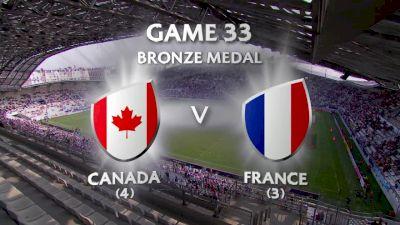 Canada vs France- HSBC World Women's 7s Series (Paris)