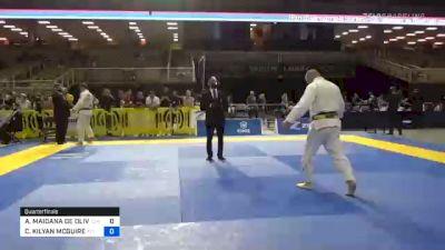 ARNALDO MAIDANA DE OLIVEIRA vs CHARLES KILYAN MCGUIRE 2020 Pan Jiu-Jitsu IBJJF Championship