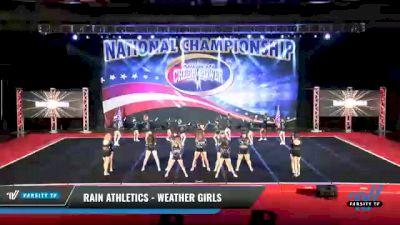 Rain Athletics - Weather Girls [2021 L2 - U17 Day 2] 2021 ACP: Midwest World Bid National Championship