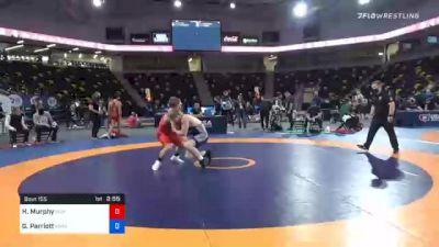 72 kg Consolation - Hunter Murphy, Olivet Wrestling Club vs Griffin Parriott, Minnesota