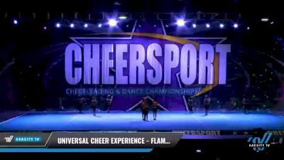Universal Cheer Experience - Flames [2021 L1 Tiny - Novice - Restrictions Day 1] 2021 CHEERSPORT National Cheerleading Championship