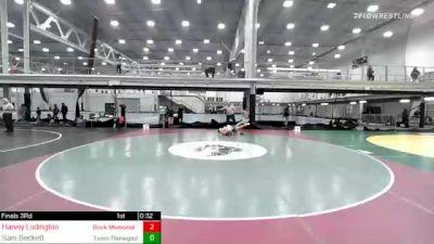 170 lbs 3rd Place - Harvey Ludington, Brick Memorial Hs vs Sam Beckett, Team Renegade