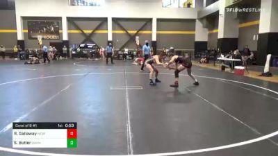132 lbs Consolation - Reagen Gallaway, Nebraska vs Skylee Butler, Swamp Monsters