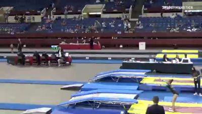 Paris  Graham  - Double Mini Trampoline, World Champions Centre  - 2021 Region 3 T&T Championships
