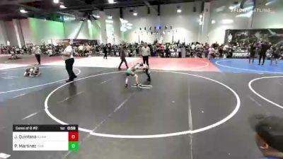 65 lbs Consi Of 8 #2 - Jax Quintana, Adams City vs Patrick Martinez, Pirates Wrestling