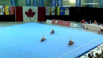 Beram / White / Charette - Group, Oakville Gymnastics Club - 2019 Canadian Gymnastics Championships - Acro