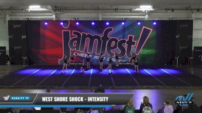 West Shore Shock - Intensity [2021 L3 Performance Recreation - 18 and Younger (NON) Day 1] 2021 JAMfest: Liberty JAM