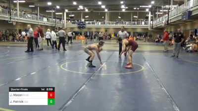Quarterfinal - Josh Mason, Bloomsburg vs Justin Patrick, Cleveland State