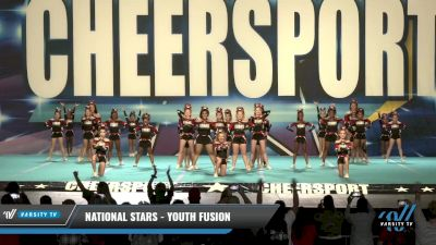National Stars - Youth Fusion [2021 L2 Youth - D2 Day 1] 2021 CHEERSPORT: Charlotte Grand Championship