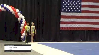 Ellie Sedlak - Women's Group, BGC - 2021 USA Gymnastics Championships