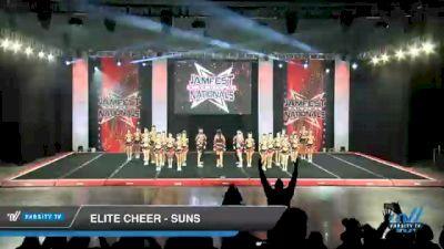 Elite Cheer - Suns [2021 L4 Senior Coed - Medium Day 2] 2021 JAMfest Cheer Super Nationals