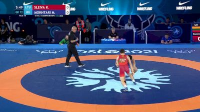 72 kg Final 3-5 - Kristupas Sleiva, Lithuania vs Mohammad Mokhtari, Iran