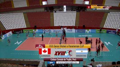 Full Replay - 2019 NORCECA Womens XVIII Pan-American Cup - Group B - Jul 13, 2019 at 3:47 PM CDT