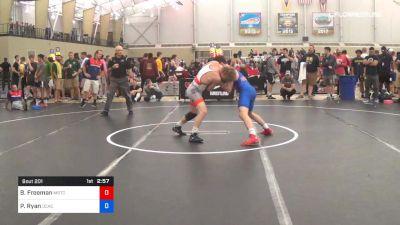 65 kg Round Of 64 - Ben Freeman, Michigan Regional Training Center vs Patrick Ryan, DCAC