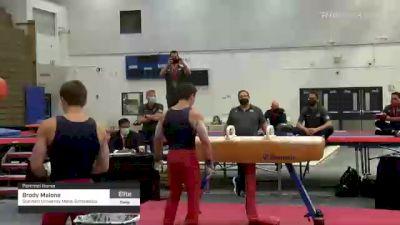 Brody Malone - Pommel Horse, Stanford University Mens Gymnastics - 2021 Men's Olympic Team Prep Camp