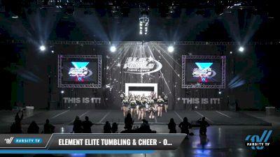Element Elite Tumbling & Cheer - OXYGEN [2021 L4 Junior Day 2] 2021 The U.S. Finals: Louisville