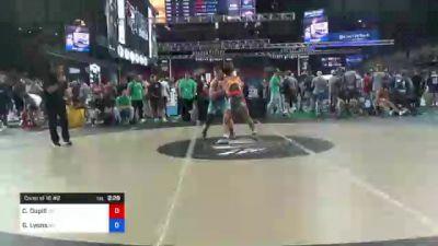 138 lbs Consi Of 16 #2 - Colin Dupill, Virginia vs Garrett Lyons, Missouri